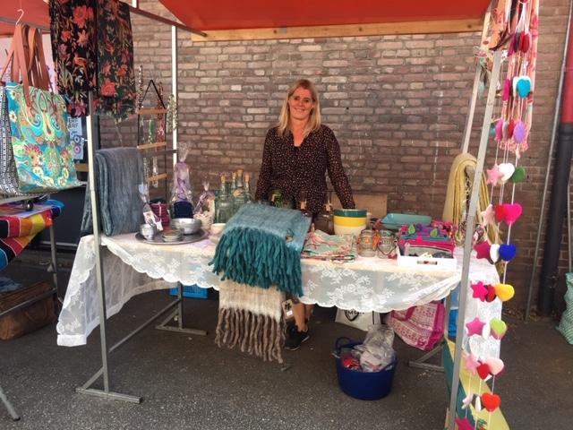 Hartelust neemt deel aan de Feelgood Market in Eindhoven op 20 oktober
